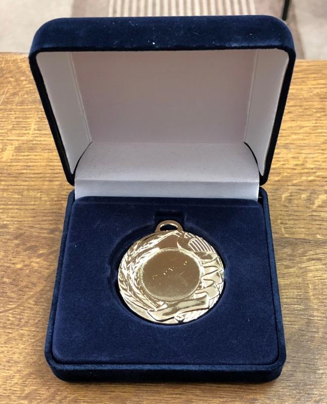 Medaille im Etui