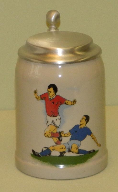 Bierkrug Fußball