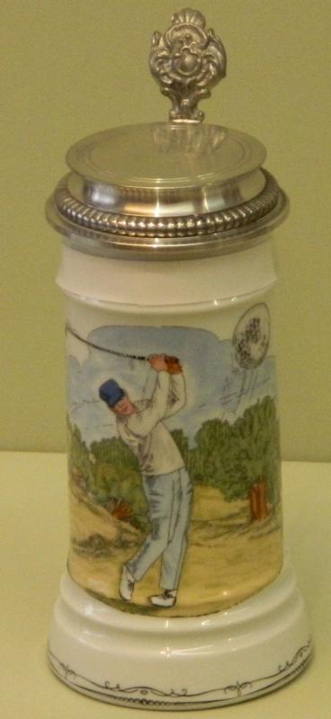 Bierkrug Golfer