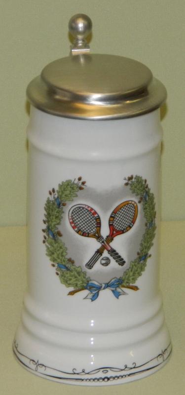 Bierkrug Tennis